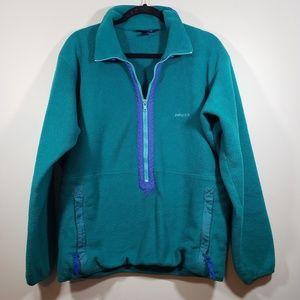 Vintage Patagonia 3/4 Zip Fleece Pullover, sz L